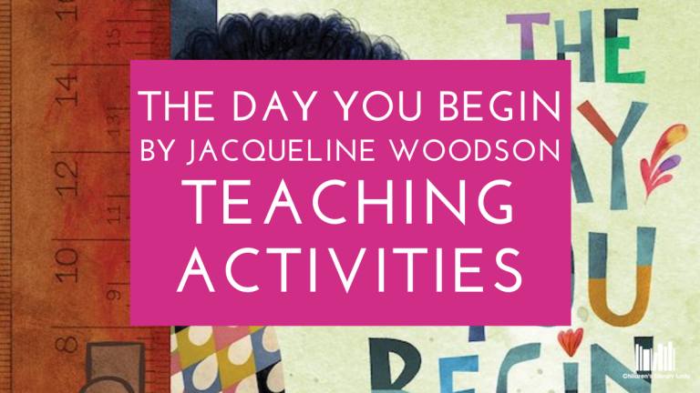 The Day You Begin Activities and Comprehension Questions