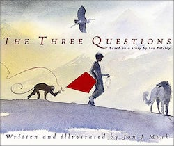 Three Questionsy Jon J. Muth