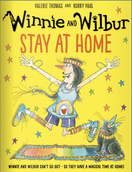 Winnie and Wilbur Stay at Home