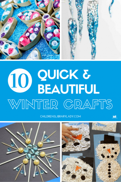 10 Quick and Beautiful Winter Crafts for Kids