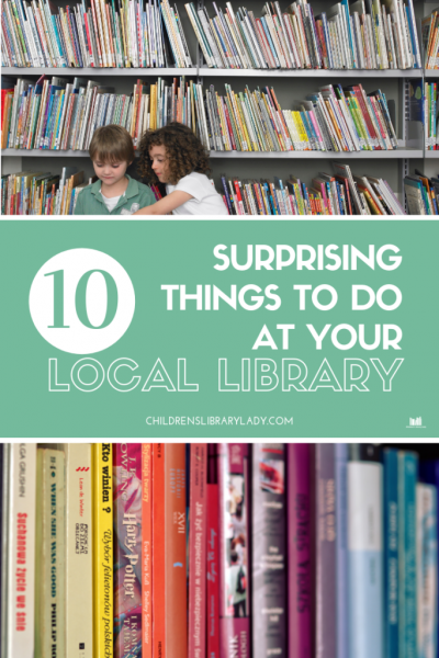 10 Surprising Things To Do At Your Local Library