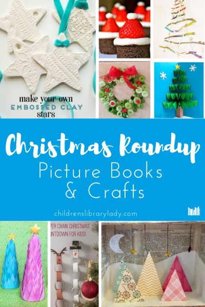 Christmas Book & Craft Roundup Pinterest