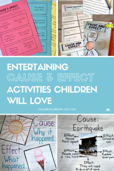 Entertaining Cause & Effect Activities Children will Love