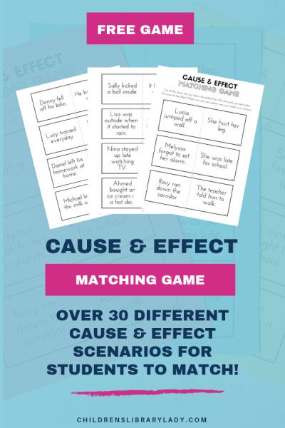 Cause & Effect Matching Game