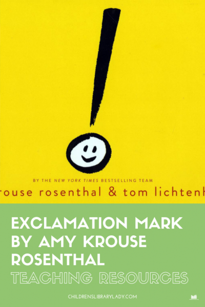Exclamation Mark by Amy Krouse Rosenthal
