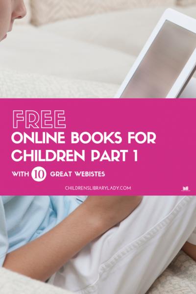 Free Online Books for Children Part 1