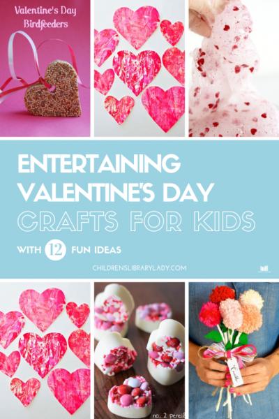 12 Entertaining Valentine's Day Crafts for Kids