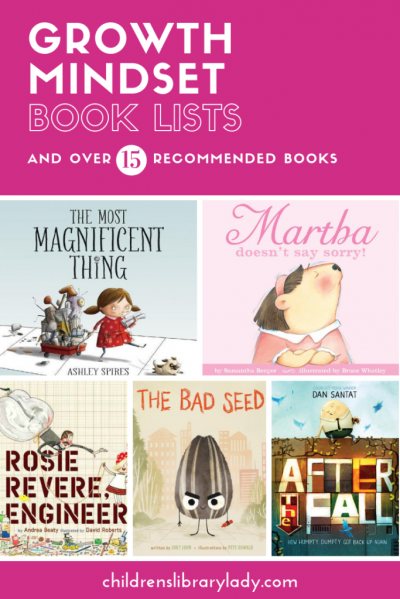 Growth Mindset Book Lists