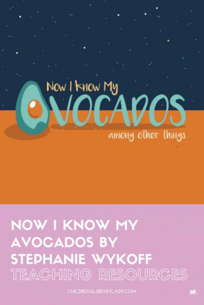 Now I Know My Avocados by Stephanie Wykoff