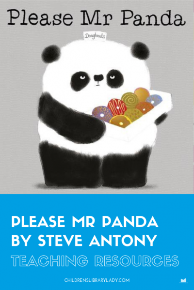 Please, Mr. Panda by Steve Antony