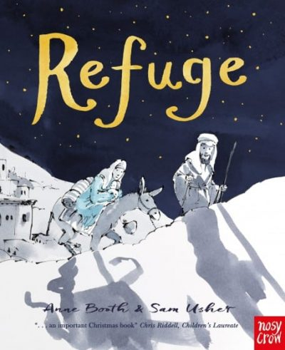 Refuge by Anne Booth book cover
