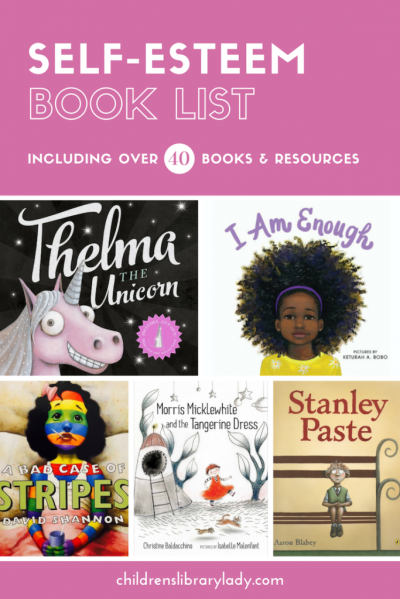 Self-Esteem Book List