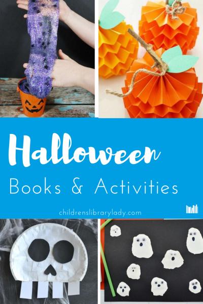 4 Spooky Halloween Books and Activities